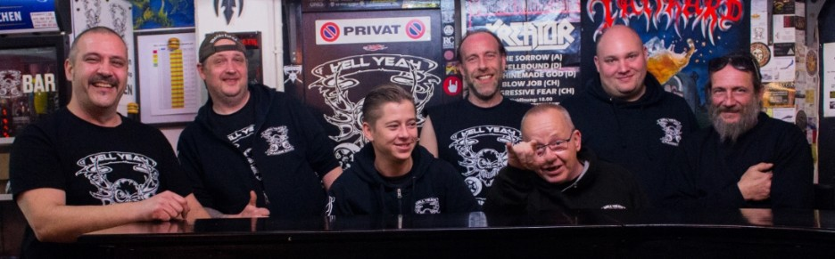 Hellyeah: unsere Truppe